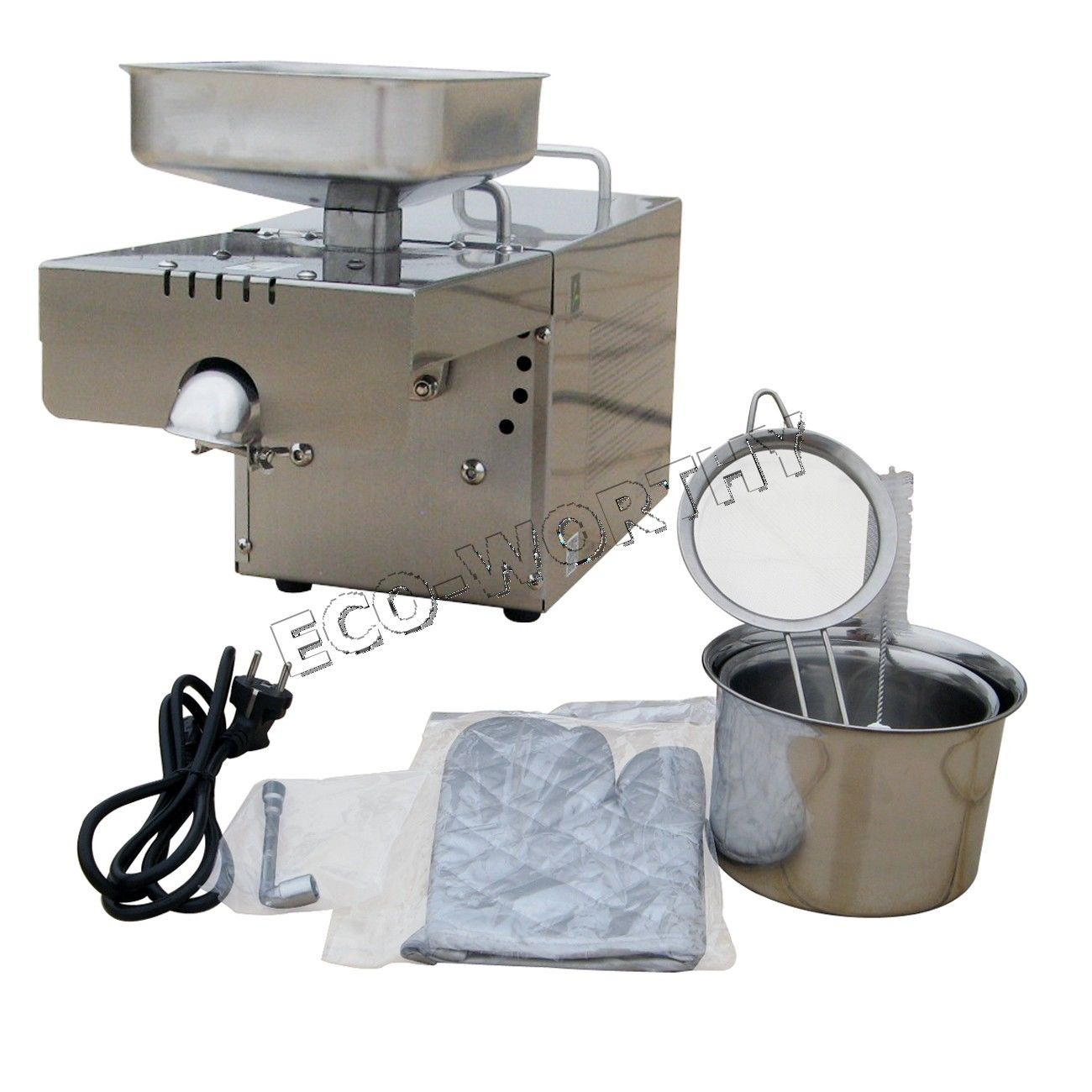 Automatic Oil Press Machine Nut Seed Oil Presser For Household AC 110V 60HZ design and construction of jatropha seed oil extracting machine
