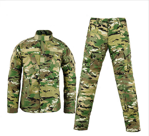 Army military tactical cargo pants uniform waterproof camouflage tactical military bdu combat uniform us army men