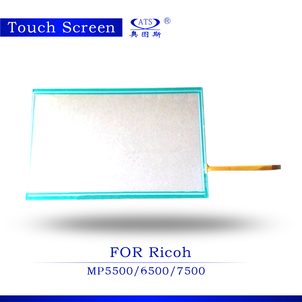 1PCS Photocopy Machine Touch Screen For Ricoh AFicio MP 5500 6500 7500 Copier parts MP5500 touch screen panel