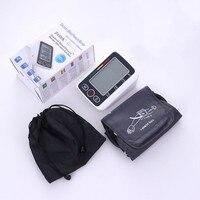 Home Health Care Russian Voice Digital Lcd Upper Arm Blood Pressure Monitor Heart Beat Meter Machine