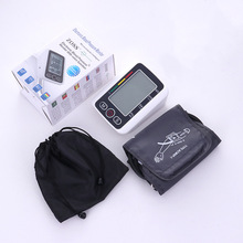 Home Health Care Russian Voice Digital ЛКД Жоғарғы Қол Артериалды Қан қысым Мониторы Heart Beat Meter Machine Tonometer Heart Rate Pulse