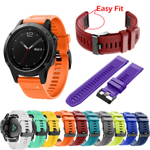 bracelet Quick Release Replacement Easy Fit Wirstband For Garmin Fenix5/5 Plus smart watch Link For Garmin forerunner 935 Band new watch case for garmin fenix 5 gps replacement silicon slim cover protector shell for garmin fenix5 plus forerunner 935 watch