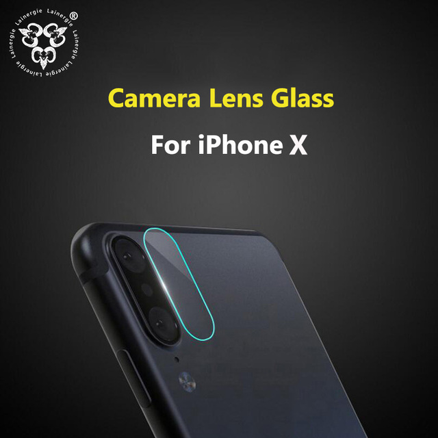 buy popular a3c67 82206 Lainergie 10PCS Back Rear Camera Lens Protector for iPhone X Camera  Protector Tempered Glass Protective Film Protection-in Phone Screen  Protectors ...