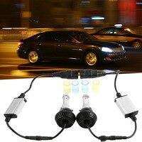 Nieuwste 1 set High Power 80 W Witte Auto auto LED Head Light Lampen 6000 K 6600LM COB LED Koplampen 9006 12000LM 6000 K 80 W