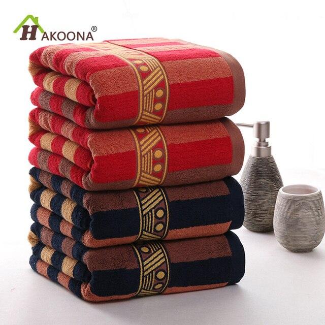 HAKOONA Oro Xingjiang Lungo Fiocco di Cotone Asciugamani Da Bagno Per Adulti Bag