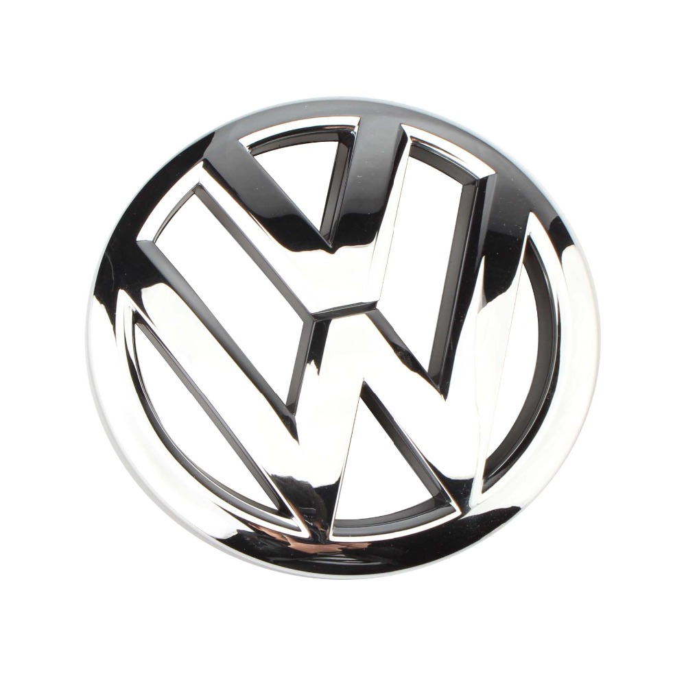 OEM 120mm Front Grille Grill Emblem Chrome Logo Badge for Volkswagen VW Jetta MK5 Polo Derby Vento-IND 10-19 6R0 853 600 A ULM new auto car super bee for charger srt8 front grill grille emblem badge 02