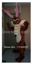 mascot Newest Professional COYOTE MASCOT Adult Size Cartoon Character Mascotte Outfit Suit EMS FREE SHIPPING