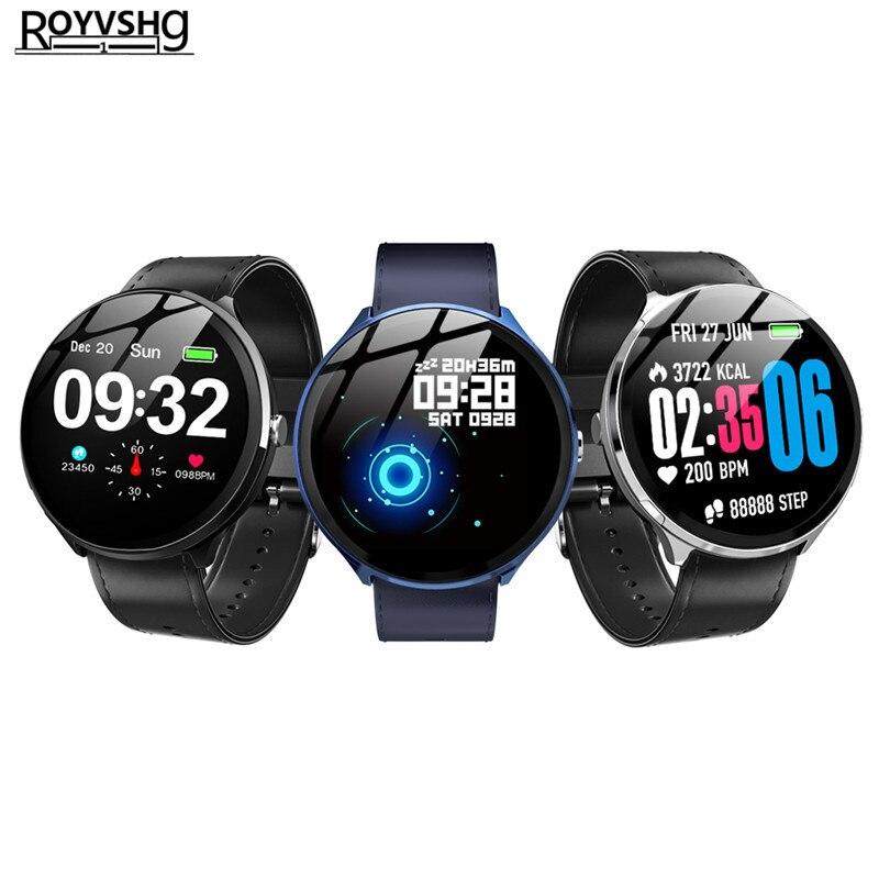 V12 Smart Watch Blood Pressure Oxygen Activity Tracker Smartwatch Heart Rate Sport Smart Fitness Bracelet PK KW18 DZ09 A1 Q8 V11