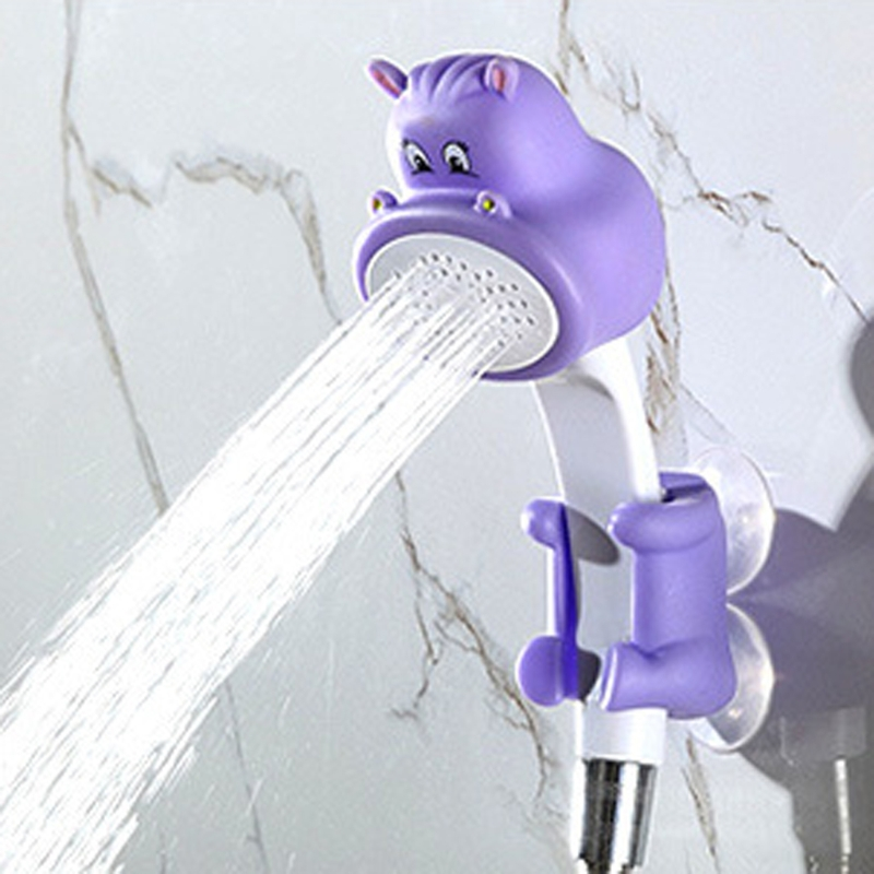 Childrens cartoon cute family to Shower bathroom hand shower faucet Round Shower Head