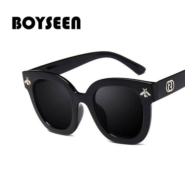 BOYSEEN Mode Carré Abeille lunettes de Soleil Femmes hommes Marque de Luxe rétro  Vintage Lunettes de Soleil Nuances oculos de sol feminino 5167€ 2,68 505922c6361e