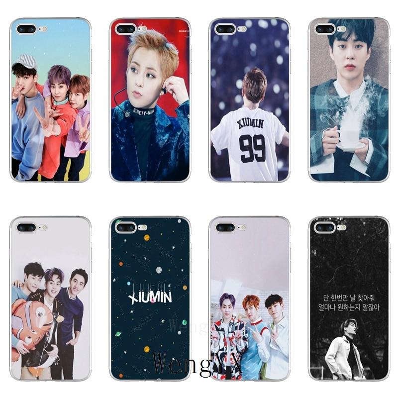 Phone Bags & Cases Half-wrapped Case Xiumin Exo Korean Slim Silicone Tpu Soft Phone Case For Lg G2 G3 Mini Spirit G4 G5 G6 K7 K8 K10 2017 V10 V20 V30