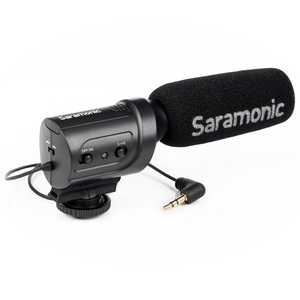 Image 2 - Saramonic Sr M3 Mini Directionele Condensator Microfoon Voor Nikon Canon Sony Dslr Camera S En Camcorders