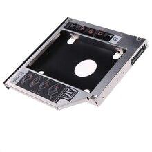 Универсальный 12,5 мм SATA 2nd HDD SSD карман для жесткого диска для 12,7 мм CD/DVD-ROM Оптический отсек с оригинальной упаковкой