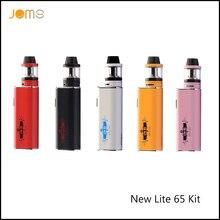 เดิมJomoTech 65วัตต์กล่องมดชุดบุหรี่อิเล็กทรอนิกส์Vapeสมัยบุหรี่อิเล็กทรอนิกส์2200มิลลิแอมป์ชั่วโมง0.4ohmมอระกู่ปากกาJomoใหม่Lite 65วัตต์Jomo-210