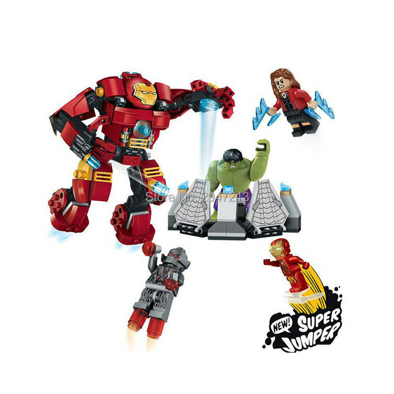 hot decool Marvel Super Hero Avenger compatible lepin Building blocks Iron Man with The Incredible Hulk figures blocks toys gift lepin 02012 city deepwater exploration vessel 60095 building blocks policeman toys children compatible with lego gift kid sets