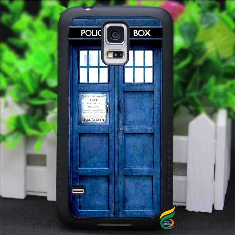 Hot Film Theme Dr Who TARDIS Blue Police Call Box case cover for Samsung galaxy S3 S4 S5 S6 S6 edge S7 S7 edge Note