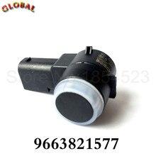 4PCS Car PDC Parking Sensor 9663821577  For Peugeot 307 308 407 Partner For Rcz For Citroen For Berlingo C4 Picasso C5 C6 DS3
