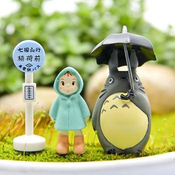 Juguete Studio Ghibli mi vecino Totoro Xiaomei muñeca figura de acción de PVC Hayao Miyazaki Anime japonés figuras estatuillas chicos Juguetes