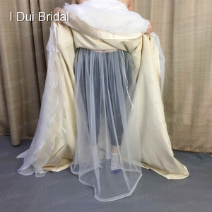 Image 3 - One Size Fit All Bridal Petticoat Buddy Drop Shipping Wedding Dress Gather Skirt  Underskirt Save You From Toilet Water