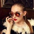 De gran tamaño gafas de Sol Mujeres Hombres Diseñador de la Marca de Canal Shades Gafas de Sol Polarizadas de Conducción Espejo Gafas De Sol Mujer Hombre