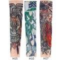 Горячие Продажи Моды Дизайн Для Прохладный Ребенка Нейлон Эластичный Малыш Временные Татуировки Рукава Arm Чулки Татуировки