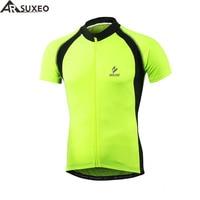 ARSUXEO Thermal Fleece Cycling Jacket Winter Warm Up Bike Clothing Windproof Waterproof Sports Coat MTB Jersey