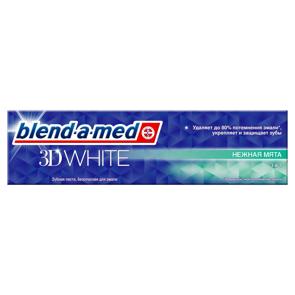 Toothpaste Blend-a-med 3D White Tender Mint 100ml a tender magic