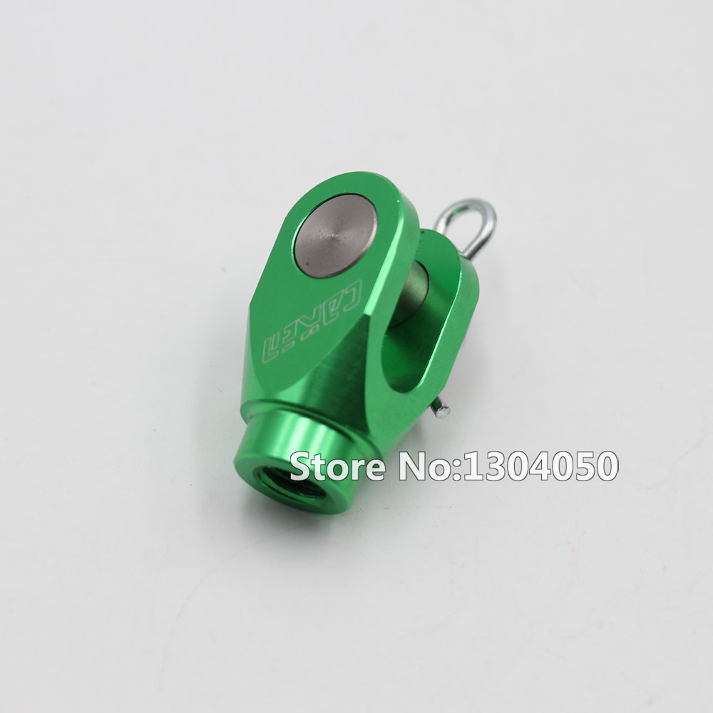 CNC Rear Brake Clevis Billet GREEN For <font><b>KX125</b></font> KX250 KX250F KX450F KFX450R ATV RMZ250 new image