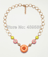 Shijie New Hot Sale Costume Jewelry Wholesale Guardian Angel Autumnal Pumpkin Necklace