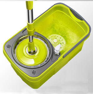 Image 4 - Швабра с вращающейся шваброй, тряпичная Швабра для мытья пола и окон, щетка и совок для уборки дома