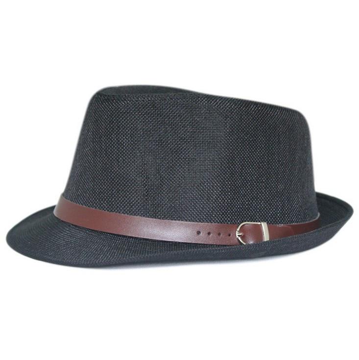 Kagenmo летняя крутая Солнцезащитная шляпа вечерние Кепка джентльмена уличный танец шляпа 11 цветов 1 шт - Цвет: 4