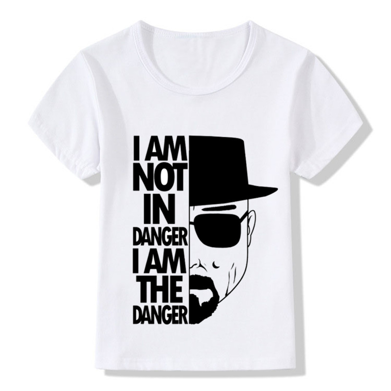Children Fashion Breaking Bad Design Cool T shirt Kids Heisenberg 3D Hipster Clothes Boys/Girls Summer Casual T-shirt,HKP5120Children Fashion Breaking Bad Design Cool T shirt Kids Heisenberg 3D Hipster Clothes Boys/Girls Summer Casual T-shirt,HKP5120
