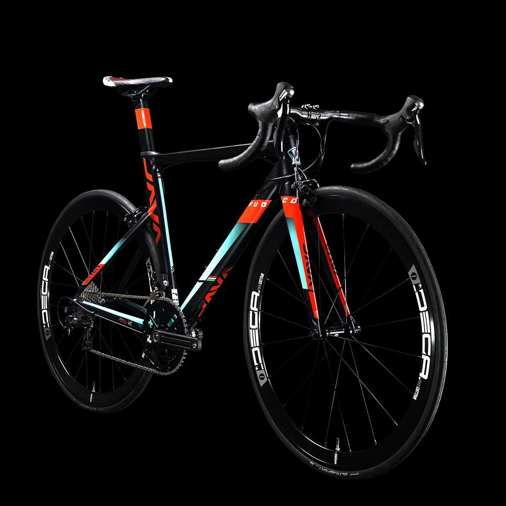 Java fuoco aluminio y carbono carretera bicicleta 700c Aero Racing ...