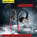 P10 Dacom fone de Ouvido Bluetooth IPX7 À Prova D' Água Esporte de Corrida Sem Fio Fone De Ouvido Estéreo Fone de Ouvido Música Headsfree W/mic Para A Natação