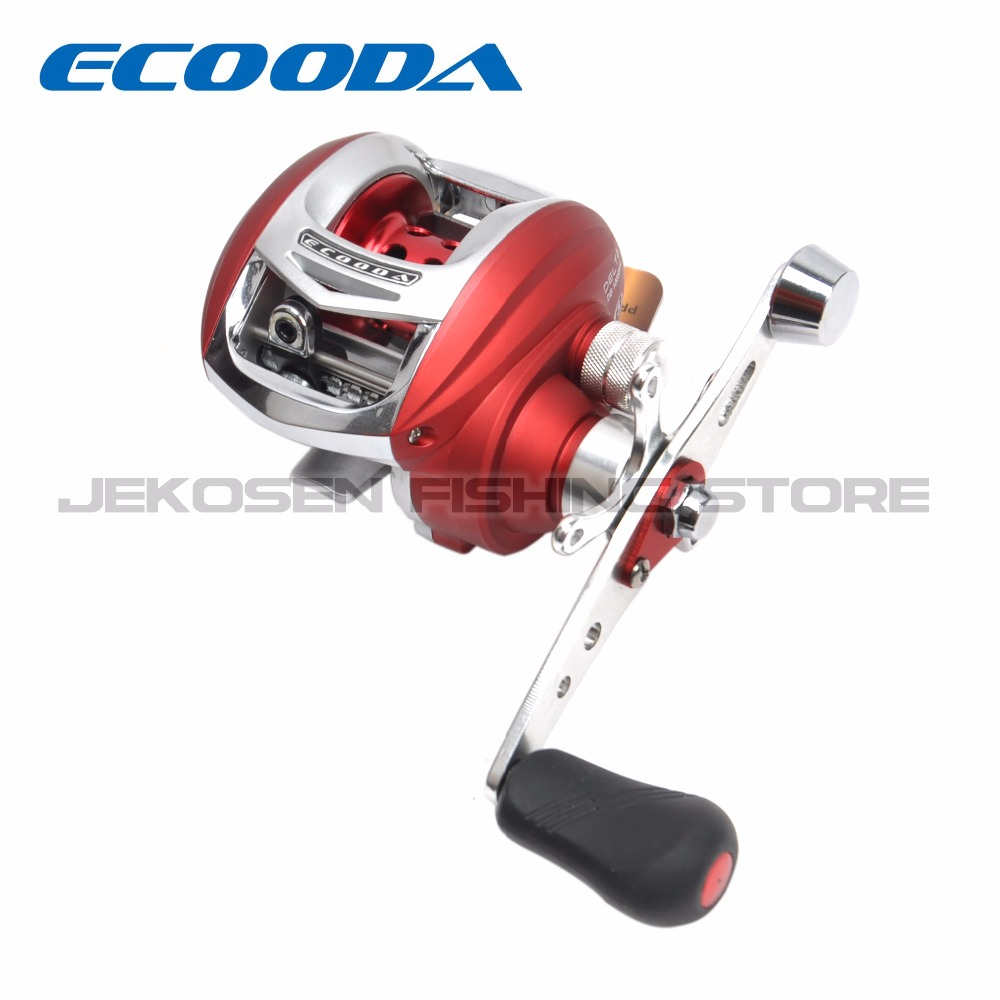 Ecooda DELTA Japanese Shaft V Shape Spool Baitcasting Reels Fishing Reels Right or Left Hand DB100SH-L/DB100SH-R nunatak original 2017 baitcasting fishing reel t3 mx 1016sh 5 0kg 6 1bb 7 1 1 right hand casting fishing reels saltwater wheel