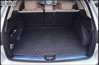Хорошие коврики! Специальные материалы ствола для Mercedes Benz GLC 250d 2018 2015 водонепроницаемый грузового лайнера загрузки ковры для GLC250d, Бесплатна