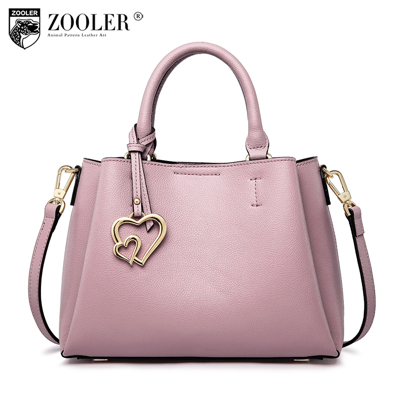 ZOOLER bags handbags women famous brands 2018 genuine leather woman bag shoulder bags stylish& luxury high quality handbags#y105 2018 top quality bags handbags type women famous brands genuine leather bag ladies classic bags zooler woman tote bags y101