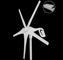 5 Blades wind turbine generator 600w max. 12V/24V wind turbine with CE.ROHS,ISO9001 approved. Combine with wind controller. 100w 200w 300w 400w max 600w wind generator lantern 12v 24v 5 blades permanent magnet generator turbine 600w wind controller