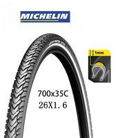 Michelin protek cross road pneu de bicicleta reflexivo pneu de bicicleta de dupla face 26x1.6 700 x 35c pneus de bicicleta maxxi interieur