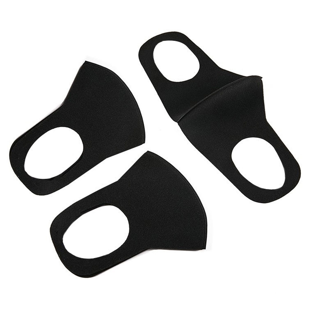 Simple 1PC Cotton Dust proof Mask Unisex Korean Style Black Bear Cycling Anti-Dust Cotton Facial Protective Cover Masks