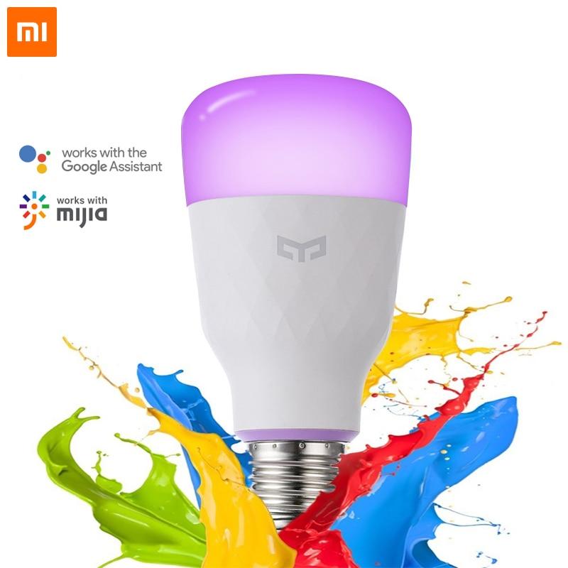Xiaomi Yeelight Smart LED Bulb E27 10W 800 Lumens Night Light Lamp Wifi Mijia APP Remote Control Works with Google Assistant