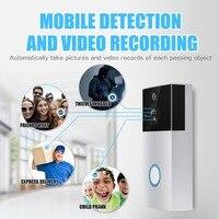 Door Bell Wifi Mobile Phone Remote Intercom Video Monitor Battery Home Wireless Doorbell Infrared Night Vision HD1080P Doorbell