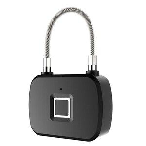 Image 5 - Golden Security Smart Lock Keyless Smart Fingerprint Lock IP66 Waterproof Anti Theft Security Padlock Door Luggage Case Lock L13
