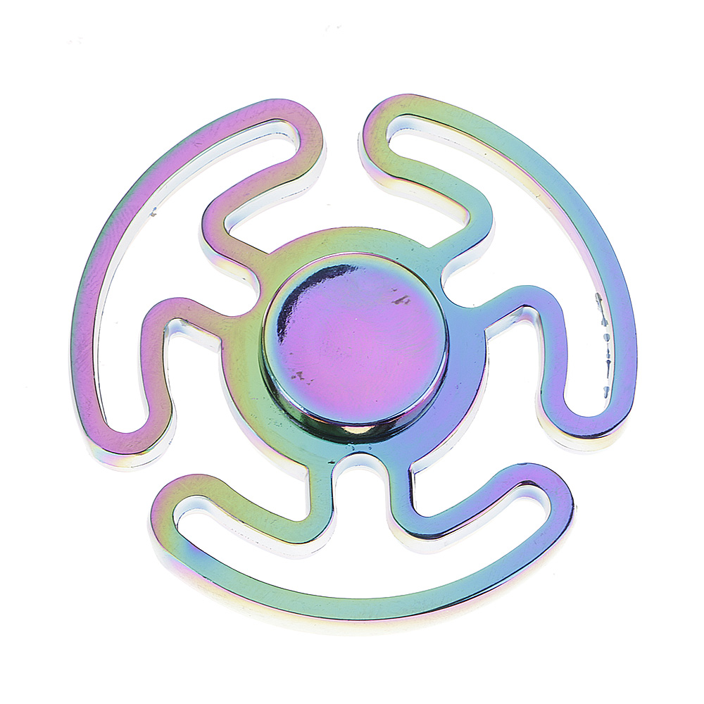 Rainbow Cloud Fidget Hand Finger Spinner EDC Focus Speed Toy Gift for Kid Adults