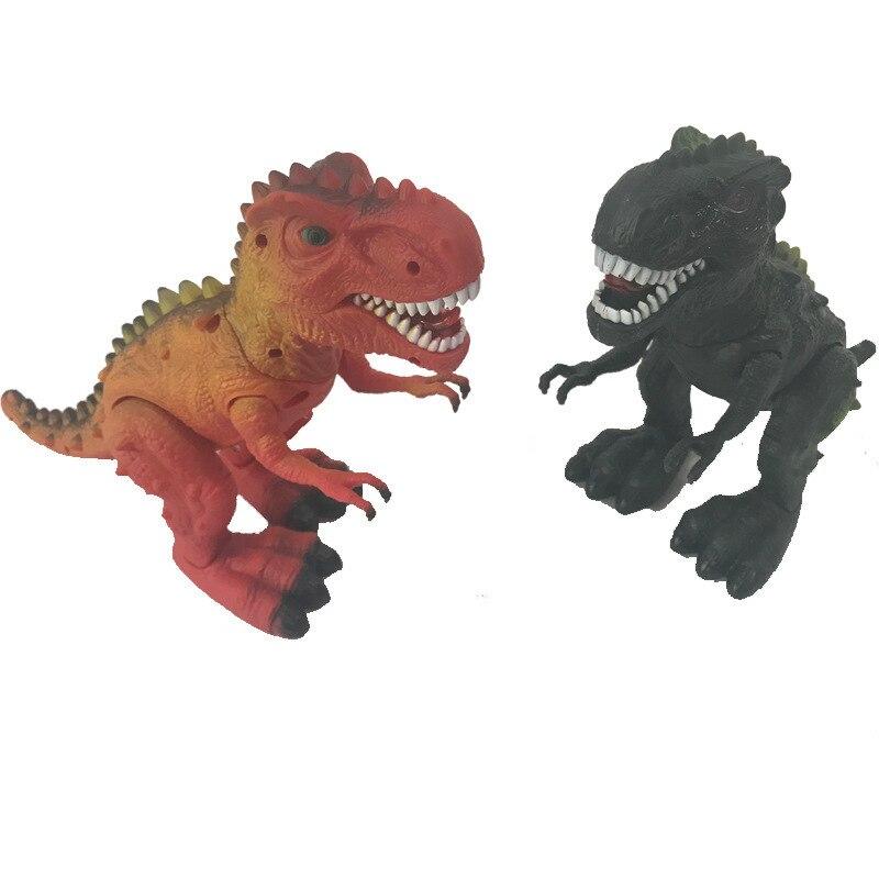 Nouveau grand dinosaure électrique marche enfants jouets marche sons animaux modèle avec musique lumière Spray jouets pour enfants Robot