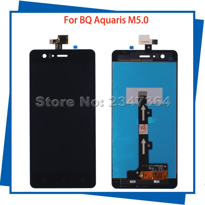 For BQ Aquaris M5 0 5Inch High Quality LCD Display Touch Screen Digitizer Assembly 100 Tested