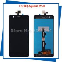 For BQ Aquaris M5.0 5Inch High Quality LCD Display Touch Screen Digitizer Assembly 100%Tested Mobile Phone LCDs