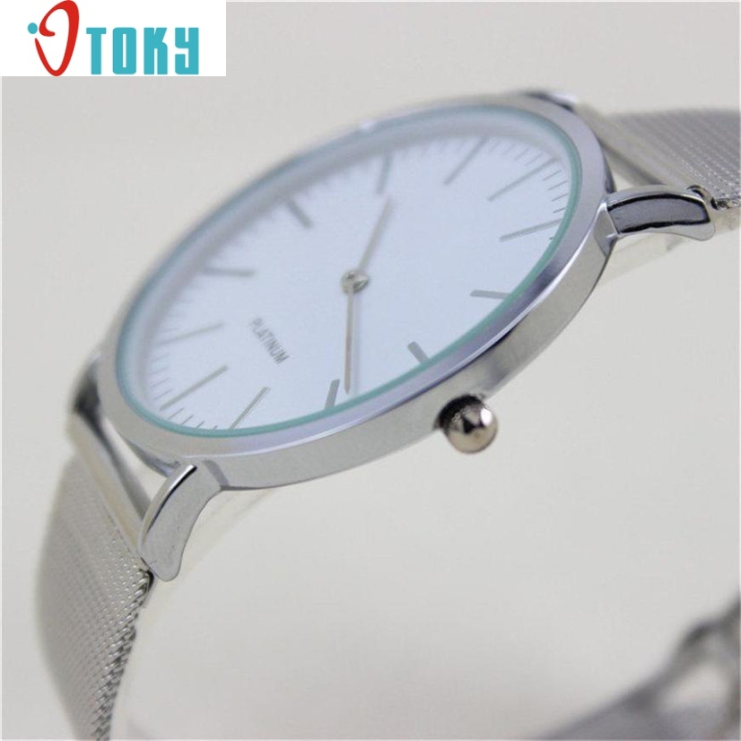 cheap wrist watch women HOT Geneva Women's Fashion Watch Stainless Steel Band Analog Quartz Wrist Watch Ap8 Dropshipping women watches cheap montre erkek saat dropshipping hot sale fashion women marble surface stainless steel band quartz movement 4