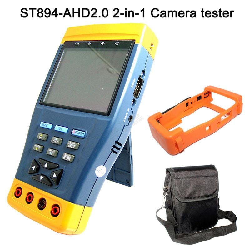 53b42eba9d708 ST-894 العهد 3.5 lcd monitor 1080 وعاء HD-AHD والتناظرية كاميرا cctv اختبار  ptz تحكم 12 فولت الناتج متعددة-متر فاحص