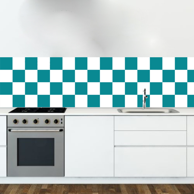 Zn Gy503 40 Pack Tile Stickers Transfers 12cmx12cm Wallpaper Mural For Kitchen Or Bathroom